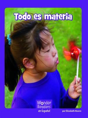 cover image of Todo es materia