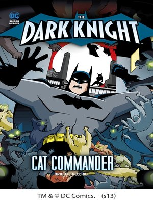 cover image of Batman vs. the Cat Commander