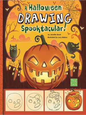 cover image of A Drawing a Halloween Spooktacular