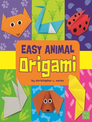 cover image of Easy Animal Origami