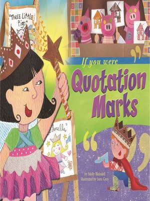 cover image of If You Were Quotation Marks