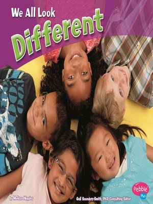 cover image of We All Look Different