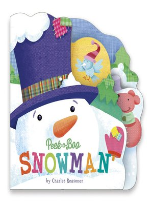 cover image of Peek-a-Boo Snowman