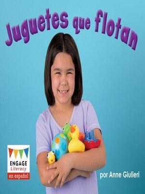 cover image of Juguetes que flotan