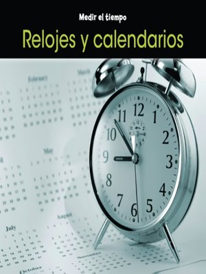 cover image of Relojes y calendarios