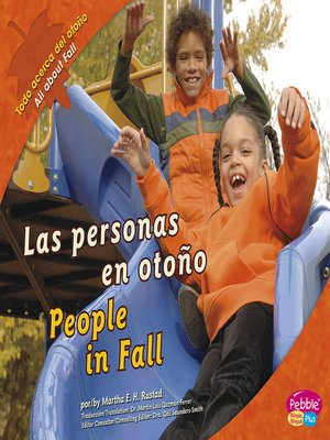 cover image of Las personas en otoño/People in Fall