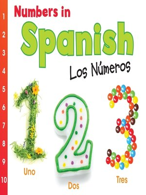 cover image of Numbers in Spanish