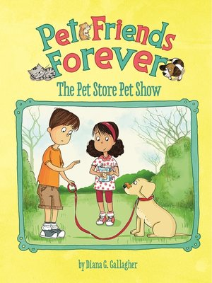 cover image of The Pet Store Pet Show
