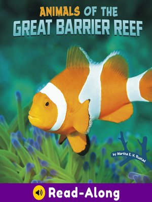 cover image of Animals of the Great Barrier Reef