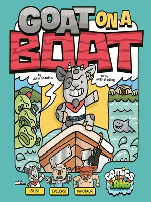 cover image of Goat on a Boat