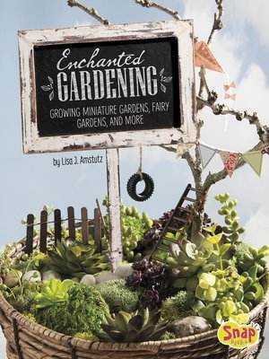 cover image of Enchanted Gardening
