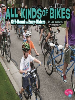 cover image of All Kinds of Bikes