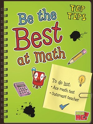 cover image of Be the Best at Math