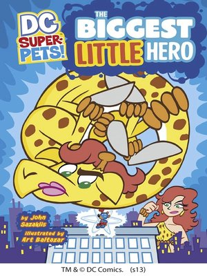 cover image of The Biggest Little Hero