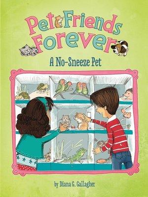cover image of A No-Sneeze Pet