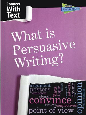 cover image of What is Persuasive Writing?