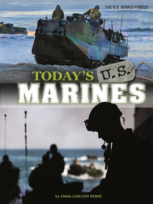 cover image of Today's U.S. Marines