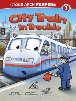 cover image of City Train in Trouble