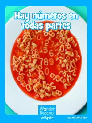 cover image of Hay números en todas partes
