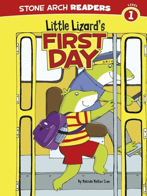 cover image of Little Lizard's First Day