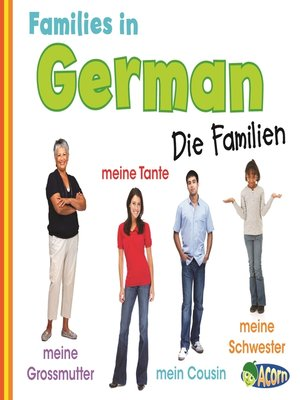 cover image of Families in German