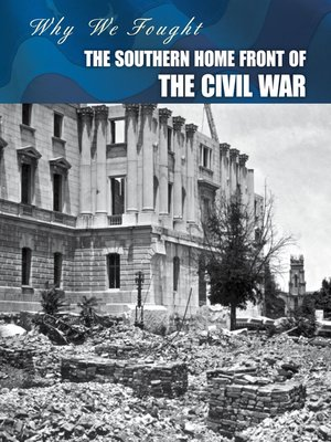 cover image of The Southern Home Front of the Civil War