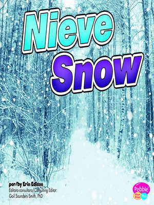 cover image of Nieve/Snow