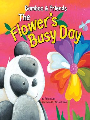 cover image of The Flower's Busy Day