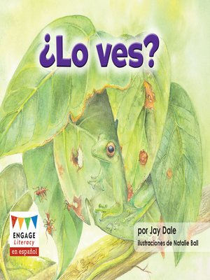 cover image of ¿Lo ves?