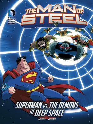 cover image of Superman vs. the Demons of Deep Space