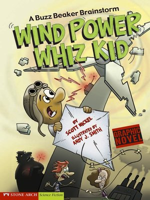 cover image of Wind Power Whiz Kid
