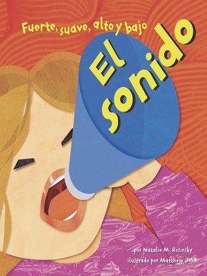 cover image of El sonido