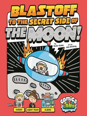 cover image of Blastoff to the Secret Side of the Moon!