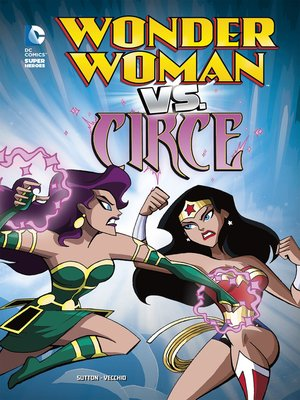 cover image of Wonder Woman vs. Circe