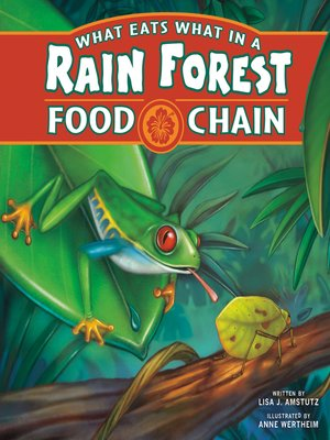 cover image of What Eats What in a Rain Forest Food Chain