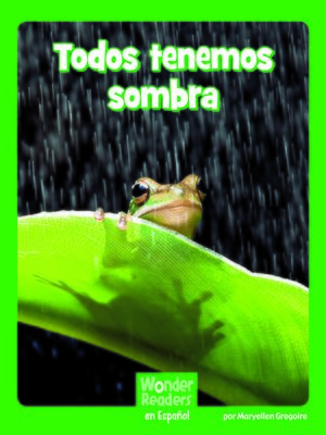cover image of Todos tenemos sombra