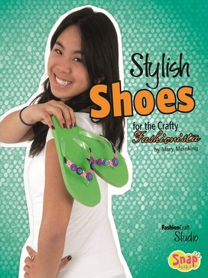 cover image of Stylish Shoes for the Crafty Fashionista