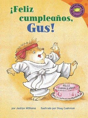 cover image of Feliz cumpleanos, Gus!