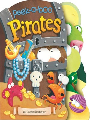 cover image of Peek-a-Boo Pirates