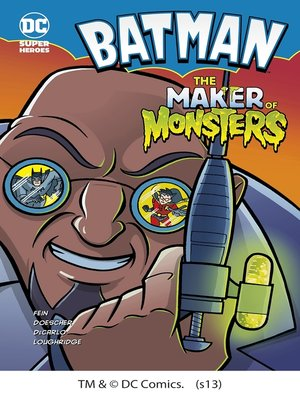 cover image of The Maker of Monsters