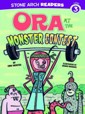 cover image of Ora at the Monster Contest