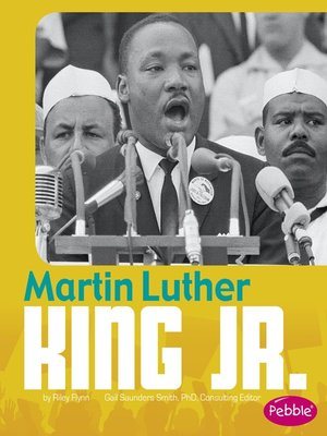 cover image of Martin Luther King Jr.