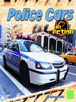 cover image of Police Cars in Action