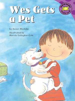 cover image of Wes Gets a Pet