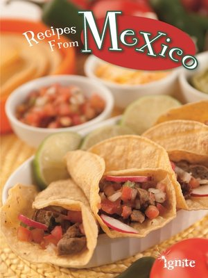 cover image of Recipes from Mexico