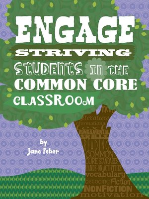 cover image of Engage Striving Students in the Common Core Classroom