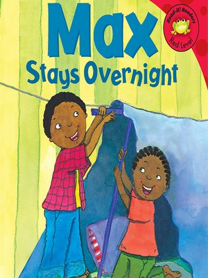 cover image of Max Stays Overnight