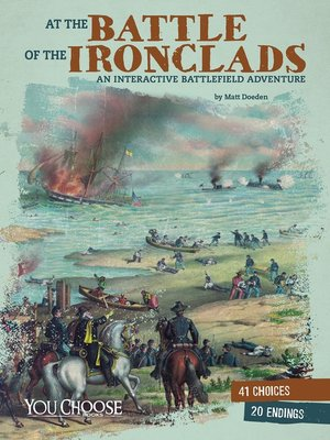 cover image of At the Battle of the Ironclads