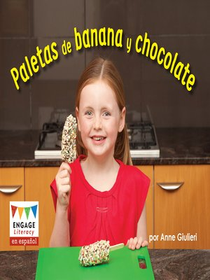 cover image of Paletas de banana y chocolate