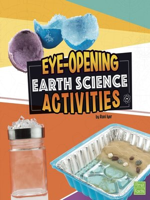 cover image of Eye-Opening Earth Science Activities